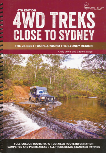 4WD treks Close to Sydney Spiral Bound Boiling Billy