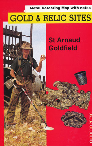 St Arnaud Gold Relic Map