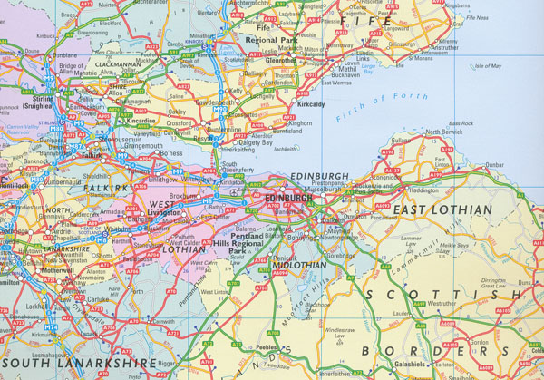 Scotland Map 2012 Collins Maps Books Travel Guides – Travel Map Of Scotland