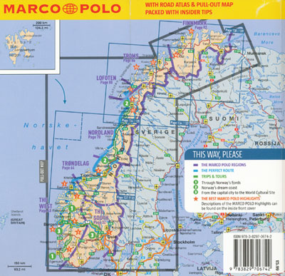 Norway Guide Marco Polo Maps Books Travel Guides Buy Online - Norway map in english