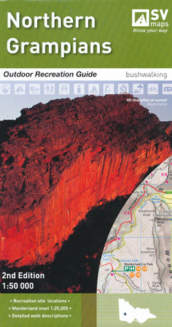 Northern Grampians Outdoor Recreation Guide Map Spatial Vision
