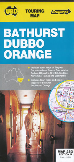 Bathurst Dubbo Orange 282 5th Edition UBD Gregorys
