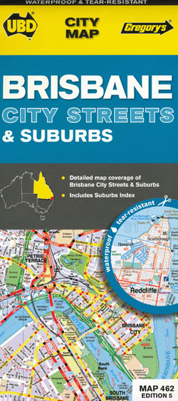 Brisbane City and Suburban 462 5th Edition UBD
