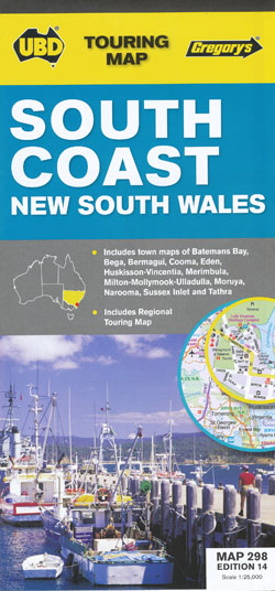 South Coast NSW 298 14th Edition UBD