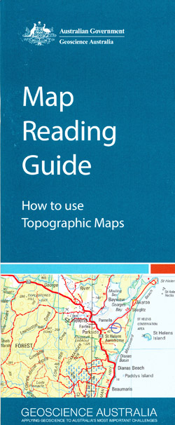 Map Reading Guide with Roma Geoscience Australia