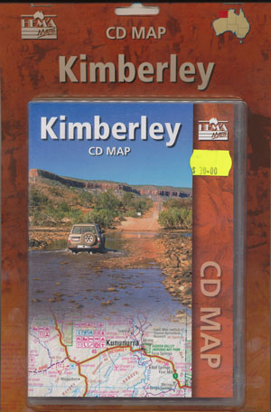 Kimberley CD Map Hema