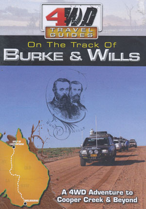 Burke and Wills 4WD Travel Guides DVD