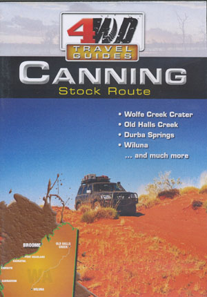 Canning Stock Route 4WD Travel Guides DVD