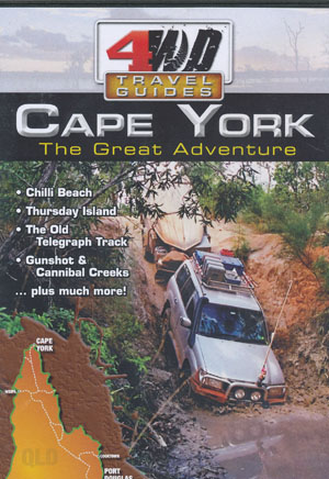 Cape York The Great Adventure 4WD Travel Guides DVD