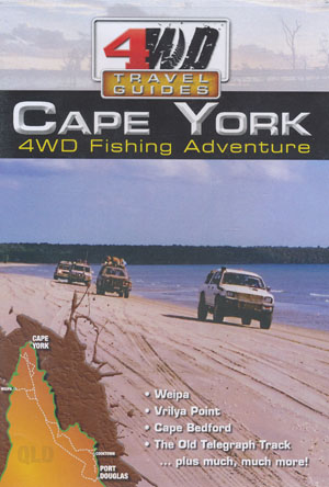 Cape York 4WD Fishing Adventure 4wd Travel Guides DVD