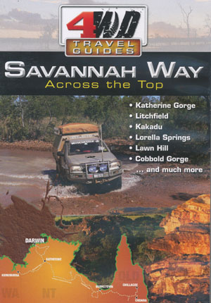 Savannah Way 4WD Travel Guides DVD