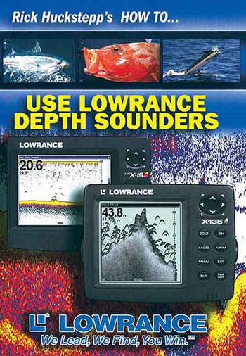 How to Use Lowrance Depth Sounders DVD