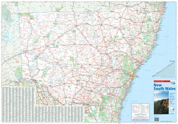New South Wales Maps Books and Atlases Maps Books Travel