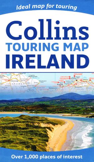 Ireland Touring Map Collins