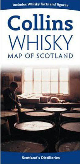 Scotland Whiskey Map Collins