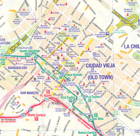 Quito Map on