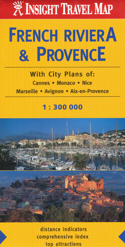 French Riviera Provence Map Insight Travel Map