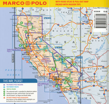 California Guide Marco Polo | Maps | Books | Travel Guides