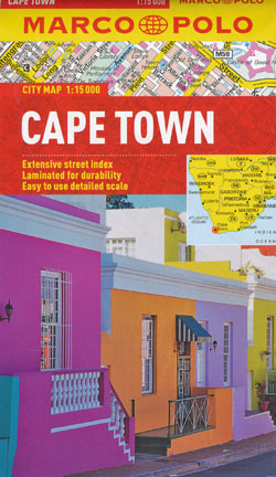 Cape Town Map Marco Polo