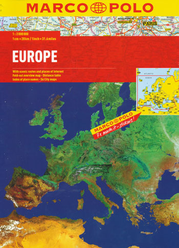 Europe Atlas Marco Polo