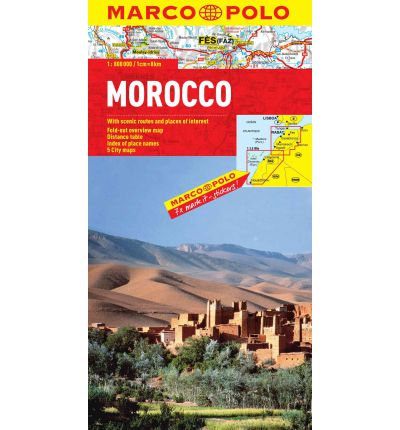 Morocco Map Marco Polo