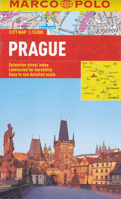 Prague Map Marco Polo