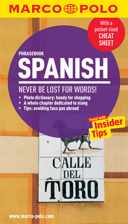 Spanish Phrasebook Marco Polo