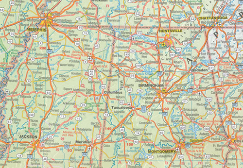 USA Map Marco Polo | Maps | Books | Travel Guides | Buy Online