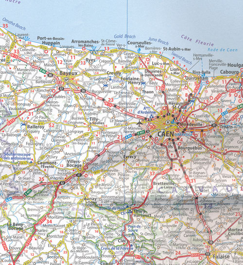 Map Of North West France.France Northwest Map 706 Michelin Maps Books Travel Guides