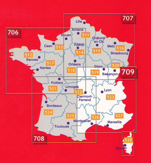 Map Of South East France.France Southeast Map 709 Michelin Maps Books Travel Guides