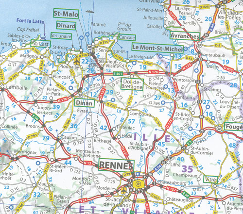 Map Of North France.Northern France Map 724 Michelin 2013 Maps Books Travel Guides