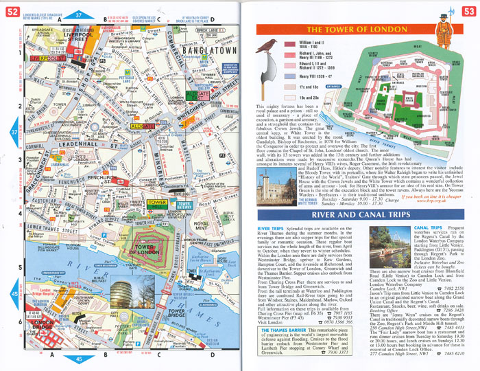 London Map Guide.London Mapguide Penguin Maps Books Travel Guides Buy Online