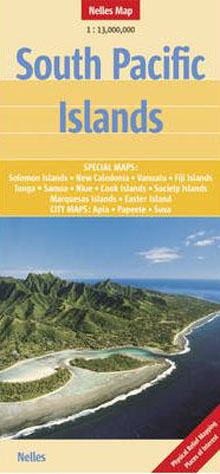 South Pacific Islands Map Nelles