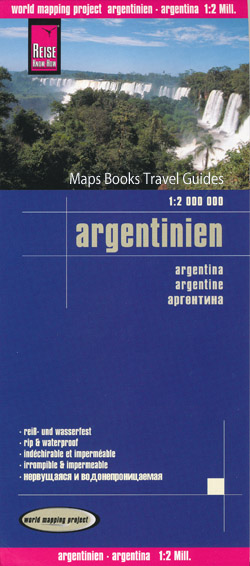 South and central america maps maps books travel guides buy argentina map reise click for detail gumiabroncs Gallery