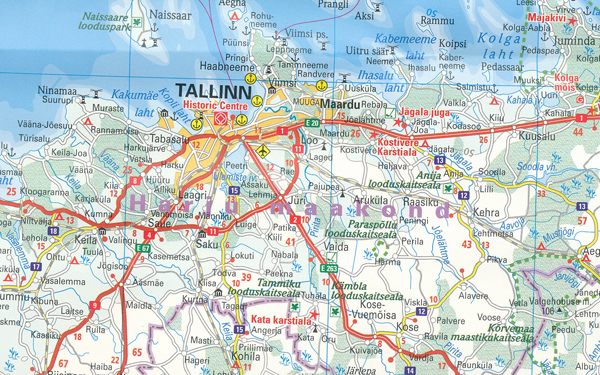 Baltic States Map Reise | Maps | Books | Travel Guides | Buy Online