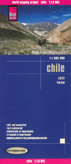 Chile Map Reise