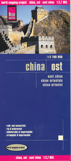 China East Map Reise