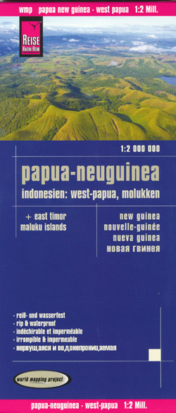 Papua New Guinea West Papua Map Reise