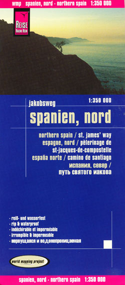 Spain North Map Reise