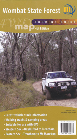 Wombat State Forest 4WD Folded Meridian
