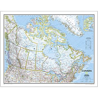Buy Map Of Canada.Canada National Geographic Paper Maps Books Travel Guides