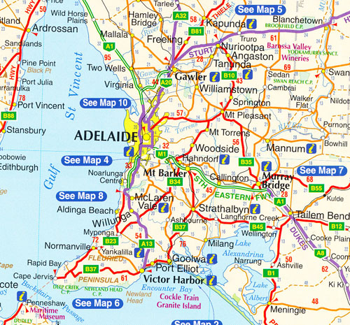 South Australia Map RACV Maps Books Travel Guides Buy Online