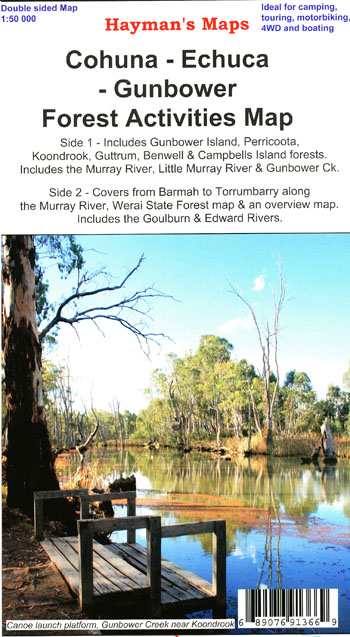 Cohuna Echuca Gunbower Map Hayman