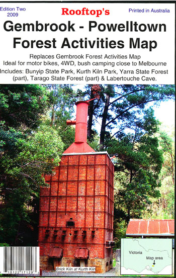 Gembrook Powelltown Forest Activities Map Rooftop