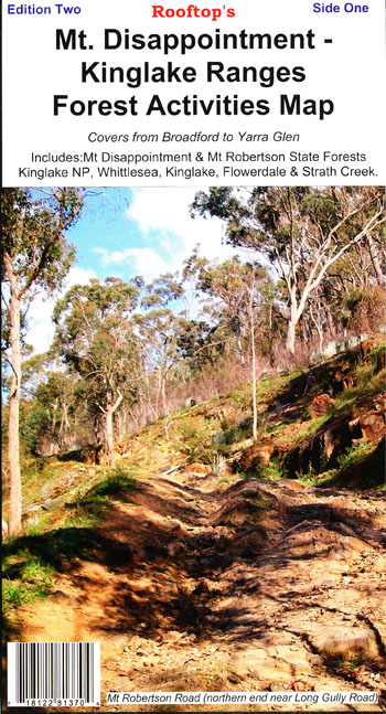 Mt Disappointment Forest Kinglake Map Rooftop