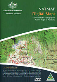 Natmap Digital Maps DVD Geoscience