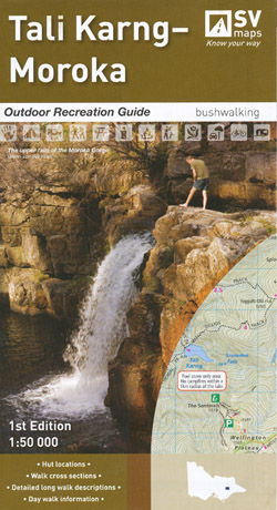 Tali Karng Moroka Outdoor Recreation Map Spatial Vision
