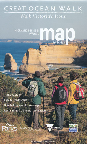 Great Ocean Walk Map Parks Victoria