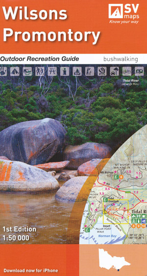 Wilsons Prom Outdoor Recreation Guide Map Spatial Vision