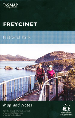 Freycinet National Park Map Tasmap